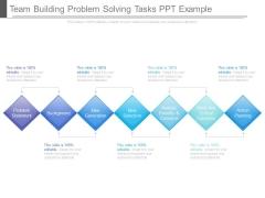 Team Building Problem Solving Tasks Ppt Example