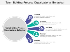 Team Building Process Organizational Behaviour Ppt PowerPoint Presentation Infographic Template Smartart Cpb