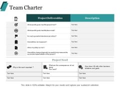 Team Charter Ppt PowerPoint Presentation Inspiration Format Ideas