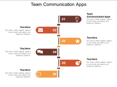 Team Communication Apps Ppt PowerPoint Presentation Pictures Example Introduction
