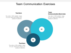 Team Communication Exercises Ppt PowerPoint Presentation Outline Guidelines