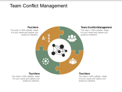 Team Conflict Management Ppt Powerpoint Presentation Infographic Template Guidelines Cpb