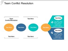 Team Conflict Resolution Ppt PowerPoint Presentation Model Ideas Cpb