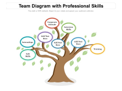 Team Diagram With Professional Skills Ppt PowerPoint Presentation File Infographics PDF