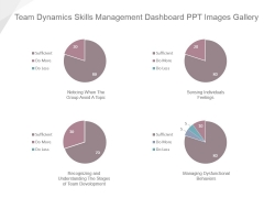 Team Dynamics Skills Management Dashboard Ppt Images Gallery