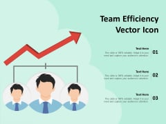 Team Efficiency Vector Icon Ppt PowerPoint Presentation Icon Graphics Example