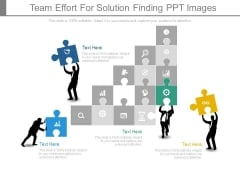 Team Effort For Solution Finding Ppt Images