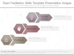Team Facilitation Skills Template Presentation Images