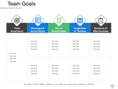 Team Goals Arrows Ppt PowerPoint Presentation Infographics Gallery
