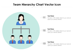 Team Hierarchy Chart Vector Icon Ppt PowerPoint Presentation Pictures Background Images PDF