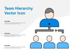 Team Hierarchy Vector Icon Ppt PowerPoint Presentation Layouts Show
