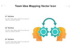 Team Idea Mapping Vector Icon Ppt PowerPoint Presentation Gallery Graphics Design PDF