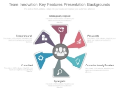 Team Innovation Key Features Presentation Backgrounds