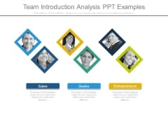 Team Introduction Analysis Ppt Examples