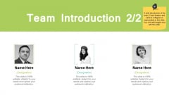 Team Introduction Marketing Ppt PowerPoint Presentation File Background Designs