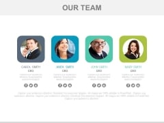 Team Introduction With Planning Tags Powerpoint Slides