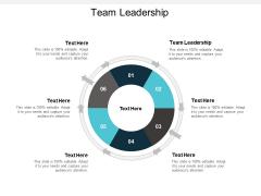 Team Leadership Ppt PowerPoint Presentation Professional Format Cpb