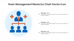 Team Management Hierarchy Chart Vector Icon Ppt Visual Aids Layouts PDF