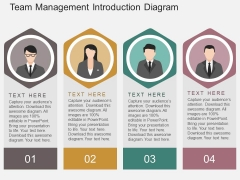Team Management Introduction Diagram Powerpoint Template