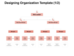 Team Manager Administration Designing Organization Template Manager Summary Pdf