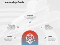 Team Manager Administration Leadership Goals Topics Pdf