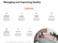 Team Manager Administration Managing And Improving Quality Graphics Pdf