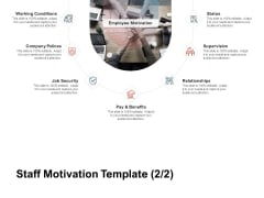 Team Manager Administration Staff Motivation Template Relationships Mockup Pdf