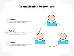 Team Meeting Vector Icon Ppt PowerPoint Presentation Summary Slides