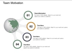 Team Motivation Ppt PowerPoint Presentation Infographic Template Example Cpb