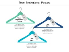 Team Motivational Posters Ppt PowerPoint Presentation Outline Deck Cpb