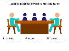 Team Of Business Person In Meeting Room Ppt PowerPoint Presentation Icon Examples PDF