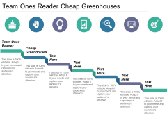 Team Ones Reader Cheap Greenhouses Ppt PowerPoint Presentation Icon Aids