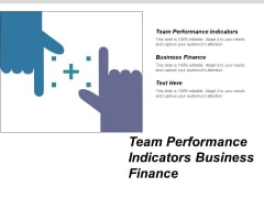Team Performance Indicators Business Finance Ppt PowerPoint Presentation Icon Clipart