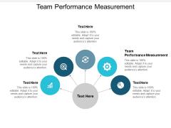 Team Performance Measurement Ppt PowerPoint Presentation Icon Designs Cpb