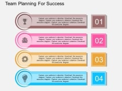 Team Planning For Success Powerpoint Template