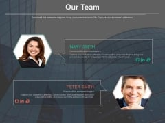 Team Profile Tags Introduction Diagram Powerpoint Slides