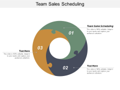 Team Sales Scheduling Ppt PowerPoint Presentation Slides Example Cpb