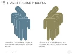 Team Selection Process Ppt PowerPoint Presentation Summary