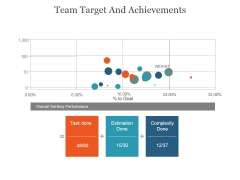 Team Target And Achievements Slide Ppt PowerPoint Presentation Themes