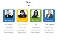 Team Template 3 Ppt PowerPoint Presentation Deck