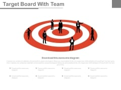 Team Vision For Sales Target Powerpoint Slides