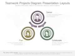 Teamwork Projects Diagram Presentation Layouts