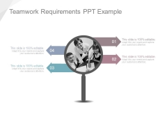 Teamwork Requirements Ppt Example