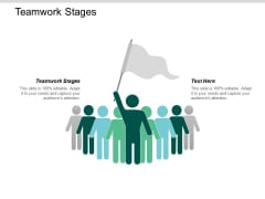 Teamwork Stages Ppt Powerpoint Presentation Styles Graphics Download Cpb