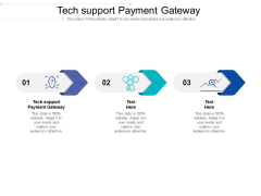 Tech Support Payment Gateway Ppt PowerPoint Presentation Slides Shapes Cpb Pdf