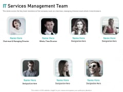 Tech Support Services Cost And Pricing IT Services Management Team Ppt PowerPoint Presentation File Background Designs