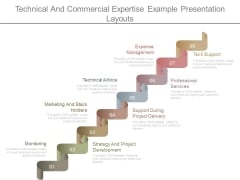 Technical And Commercial Expertise Example Presentation Layouts