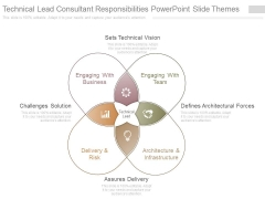 Technical Lead Consultant Responsibilities Powerpoint Slide Themes