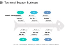 Technical Support Business Ppt PowerPoint Presentation Pictures Deck Cpb Pdf