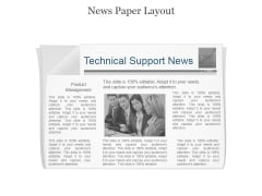 Technical Support News Ppt PowerPoint Presentation Shapes